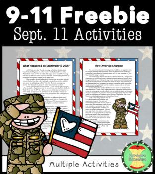 9/11 Activities Packet FREEBIE