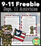 9/11 Activities Packet FREEBIE