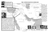 9/11: America in the Middle East Map with explanations, qu