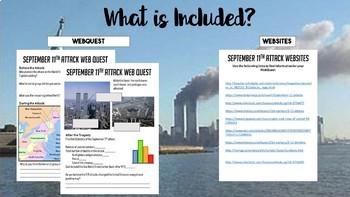 9/11 Attacks WebQuest