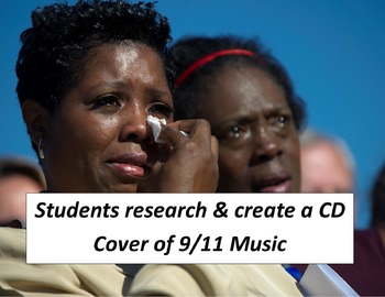 9/11 CD Cover:  Students Create a CD Cover of 9/11 Music