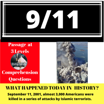 9/11 Differentiated Reading Passage, September 11
