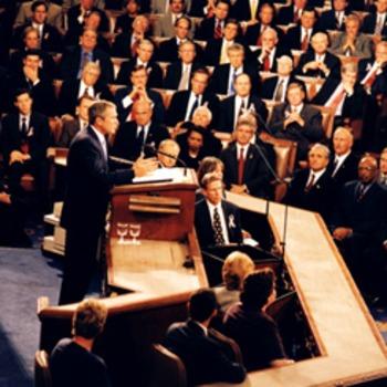 9-11 George W Bush Speech on 9-20-2001 Close Reading Analysis