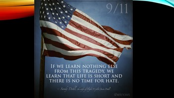 9-11 PowerPoint/Keynote Research Project
