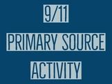 9/11 Primary Source Activity