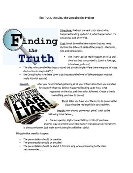 9-11 Project : Truth, Lies, and Conspiracies that surround the day