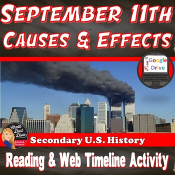 9/11 (September 11, 2001) (PPT, Reading and Interactive Web Timeline Activity)