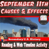 911 |September 11, 2001 | PPT, Reading and Interactive Web Timeline Activity