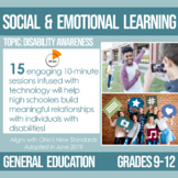 9-12 Disability Awareness Plans for Social and Emotional Learning