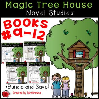 #9-12 Magic Tree House Book  Novel Study Units