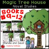 #9-12 Magic Tree House Book  Novel Study Bundle
