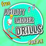 9 Agility Ladder movements for P.E