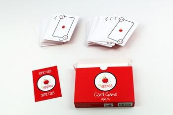 9 Apples Math Teaching Card Game