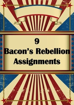 9 Bacon's Rebellion Assignments