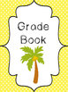 9 Beach themed Printable Binder and Spine Labels Classroom