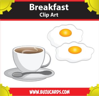 9 breakfast clipart by mr guera s art studio teachers pay teachers rh teacherspayteachers com breakfast clipart pictures breakfast clipart images