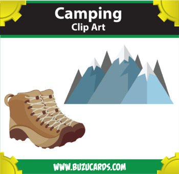9 Camping Clipart