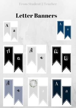 9 Classroom Banners