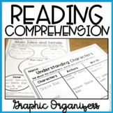 9 First Grade Comprehension Graphic Organizers