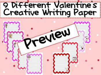 9 Different Valentine's Day Papers