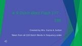 #9 Dolch Word Flash 177 - 198 PowerPoint Slideshow
