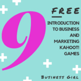 9 FREE Introduction to Business and Marketing Kahoot! Games + Resource List