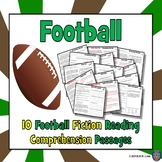 9 Football Reading Comprehension Passages and Questions: Fall Reading Passages