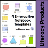 9 Interactive Notebook Templates
