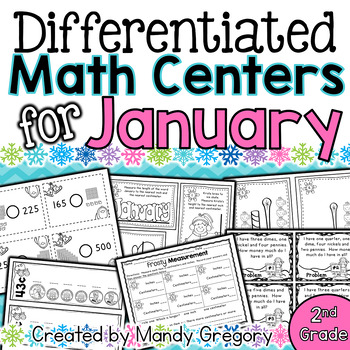 9 January Math Centers with Differentiation