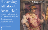 """9 """"Learning all about Artworks"""" - Chapter VIII - """"Artwork"""