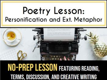 Poetry Lesson Bundle Plus Games High School