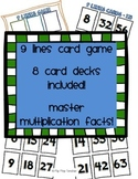 9 Lines Card Game with cards