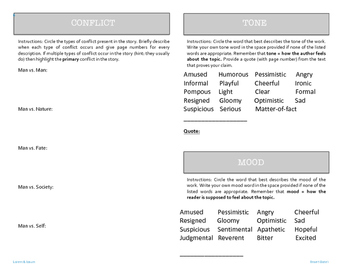 9 Literary Elements Booklet - PDF