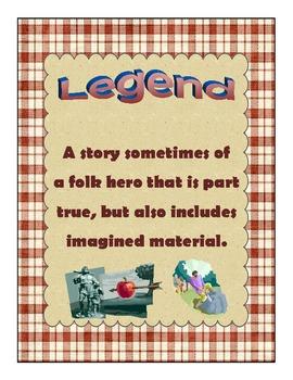 9 Literature Genre Posters