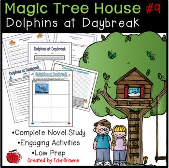 #9 Magic Tree House- Dolphins at Daybreak Novel Study