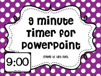 9 Minute Timer for PowerPoint