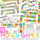 9 Money Games {For teaching coin recognition and counting bills}