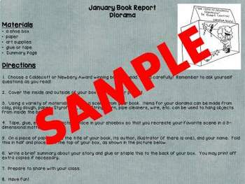 9 Months of Book Reports for 2nd Grade