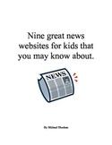 9 News websites for kids
