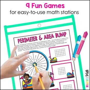 9 No Prep Measurement Games for 4th grade TEKS and STAAR prep