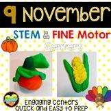9 November STEM Fine Motor centers
