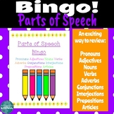 9 Parts of Speech Game