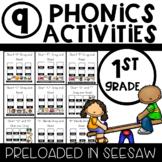 9 Phonics Activities Preloaded into Seesaw
