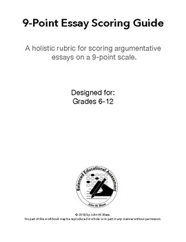 9-Point Essay Scoring Guide