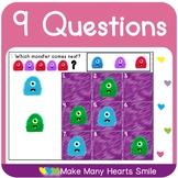 9 Questions Patterns    MMHS23
