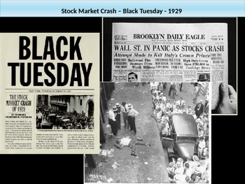 9. Roaring Twenties and Great Depression - Lesson 3 of 6 - Stock Market Crash