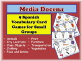9 Spanish Vocabulary Activities for Small Groups (Half Dozen, Media Docena)