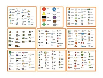 9 Spanish Vocabulary Card Games (Ve a Pescar-Go Fish)