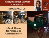 Bundle of 9 Stock Photos of Antique Carriages