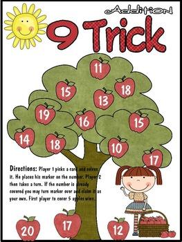9 Trick Addition Math Game